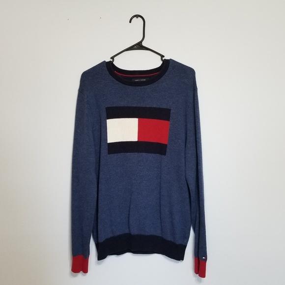 Tommy Hilfiger Other - Tommy Hilfiger Big Flag Sweater M